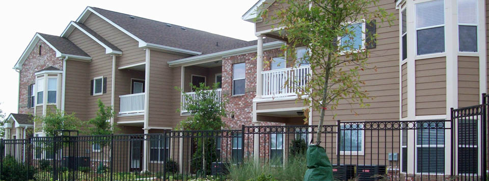 Apartments exterior view in Montgomery AL