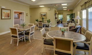 Dining area for springfield assisted living
