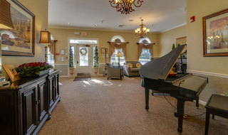 Springfield assisted living community piano area