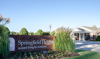 Springfield assisted living comunity for residents
