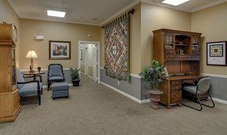 Springfield assisted living seating area