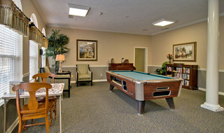 Huntingdon assisted living game room