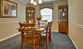 Huntingdon assisted living private dining