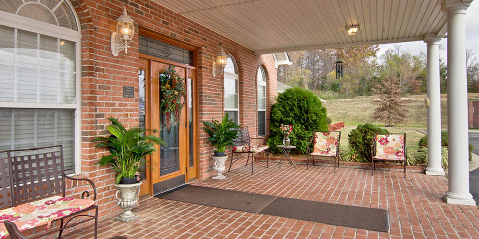 Our assisted living community in Huntingdon, TN.