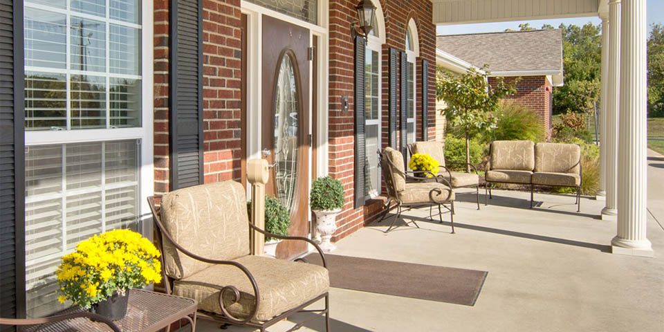 Our assisted living community in Boonville, MO.