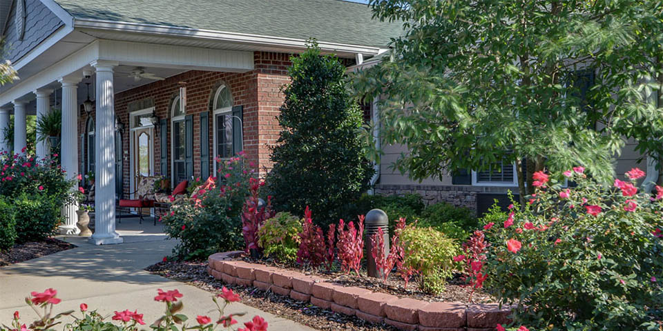 Our assisted living community in Madison, TN.