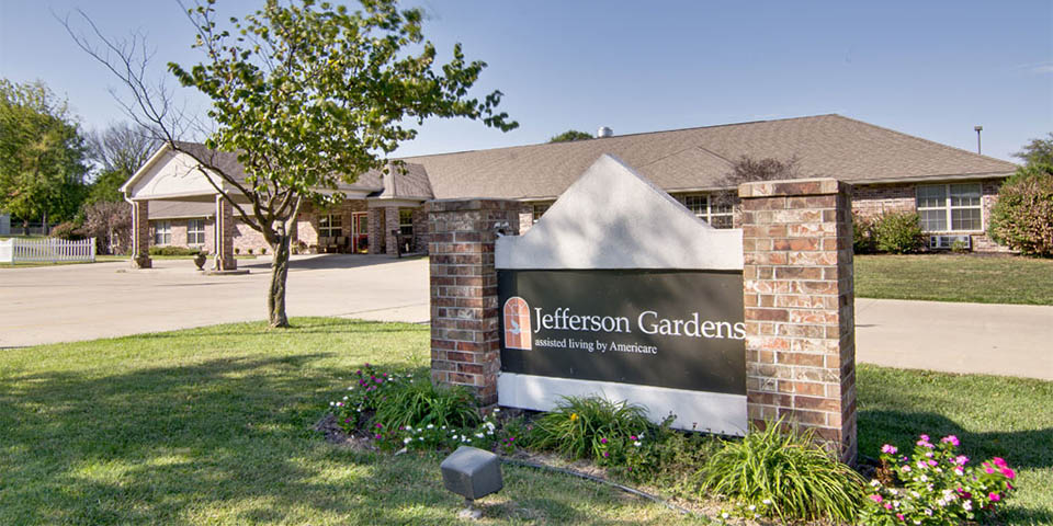 Our assisted living community in Clinton, MO.