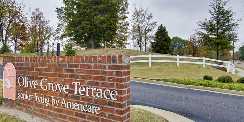 Our assisted living community in Olive Branch, MS.