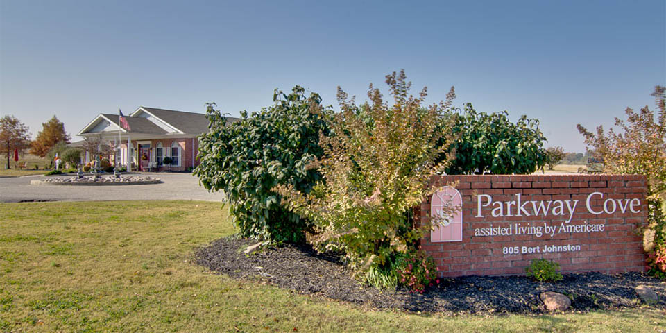 Our assisted living community in Covington, TN.