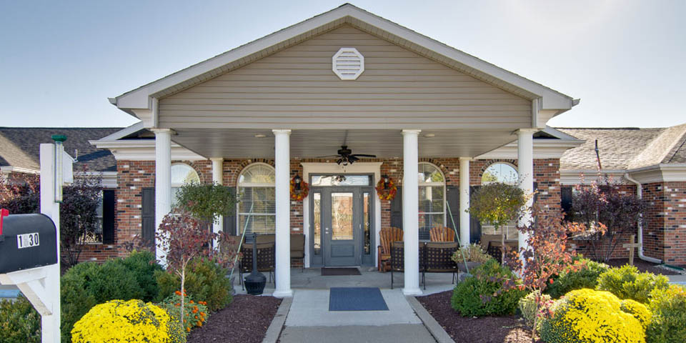 Our assisted living community in Moberly, MO.