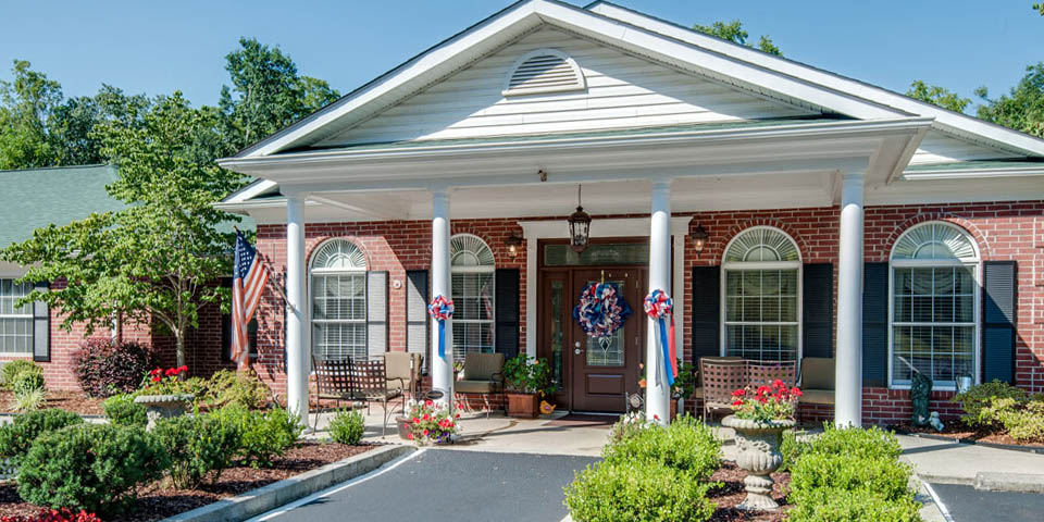 Our assisted living community in McMinnville, TN.