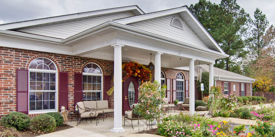 Our assisted living community in Henderson, TN.
