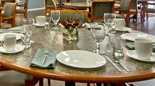 Services and amenities for senior living residents at SpringHill.