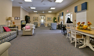 Marshall assisted living community area