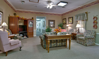 Assisted living community area in union
