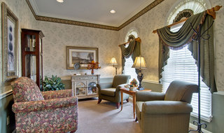Union assisted living community area