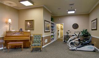 Fitness center fror assisted living seniors in union city