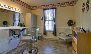 Union city assisted living community hair salon
