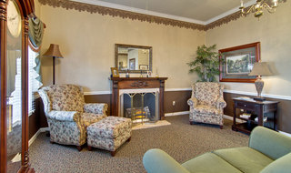 Union city assisted living community lobby