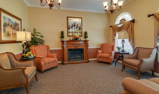 Assisted living building interior in jefferson city