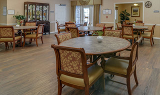 Interior of assisted living building in jefferson city