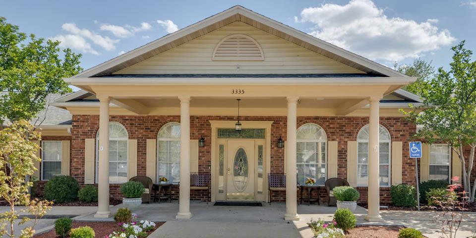 Our assisted living community in Jefferson City, MO.