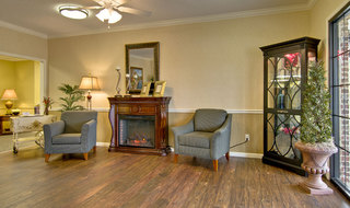 Assisted living community interior in starkville