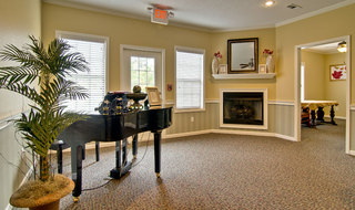 Assisted living piano area in starkville