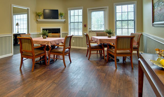 Dining area for assisted living residents in starkville