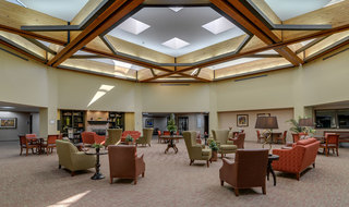 Kansas city assisted living lobby