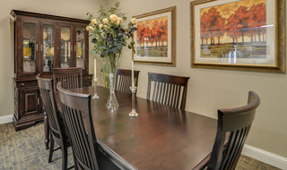 Dining table for columbia assisted living