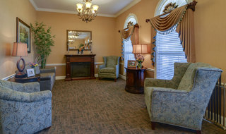 Interior of columbia assisted living building