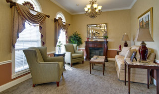 Fairview heights assisted living building interior