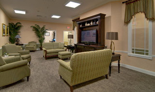 Fairview heights assisted living tv area