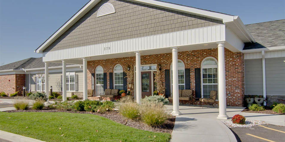 Our assisted living community in Fairview Heights, IL.