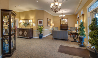 Assisted living facility lobby in memphis
