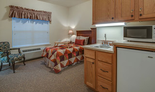 Model apartment in memphis assisted living