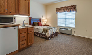 Apartment model assisted living in farmington