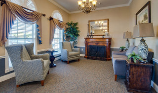 Assisted living building interior in farmington
