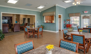 Farmington assisted living community area