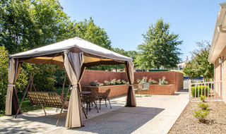 Out door lounge smyrna assisted living