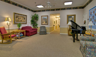 Music room columbia assisted living