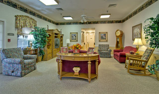 Tv lounge columbia assisted living