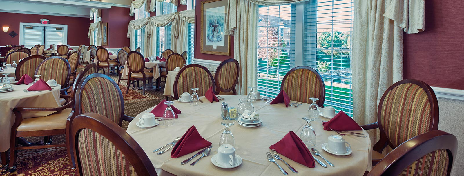 Professional chefs to prepare your meals at the senior living facility in Olathe