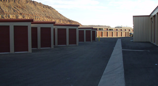 Various storage unit sizes at our facility in washington