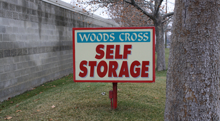 Sunny day at our woods cross storage facility