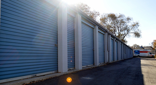 Moving day near our storage units in sandy