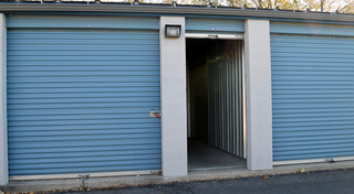 Secure storage facility in sandy