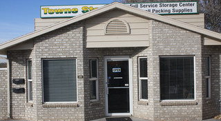 Moving boxes and supplies at our self storage facility in clearfield