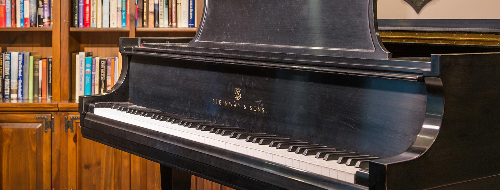 Piano at the senior living facility in Dodge City